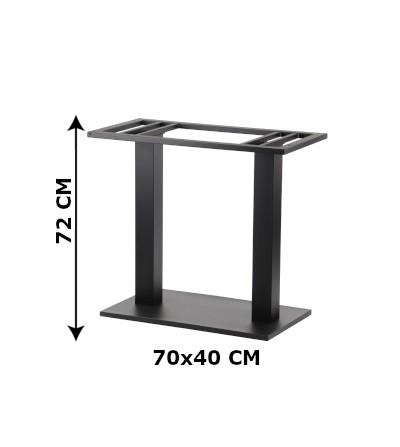 stelaż do stołu 70x40x72