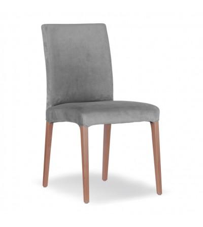 LARS SZARE krzesło tapicerowane velvet