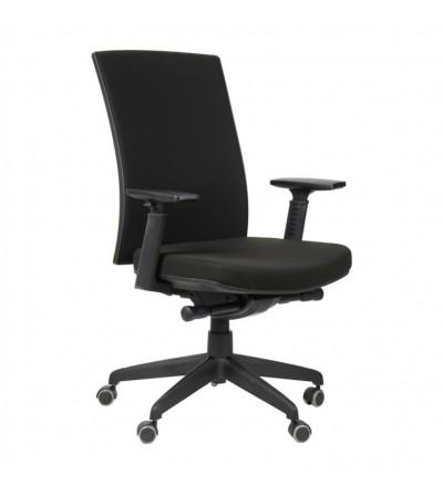 Fotel obrotowy KB-8922B-S CZARNY