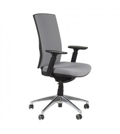 Fotel obrotowy KB-8922B-S SZARY Aluminium