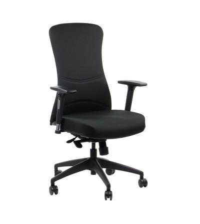 Fotel obrotowy FK-KEN12 czarny materiał