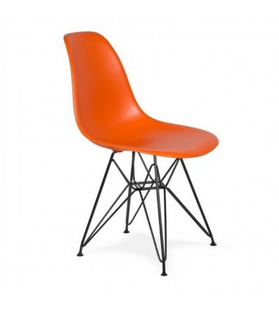 DSR BLACK krzesło z tworzywa