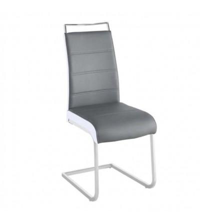 FK-036 SZARY krzesło tapicerowane