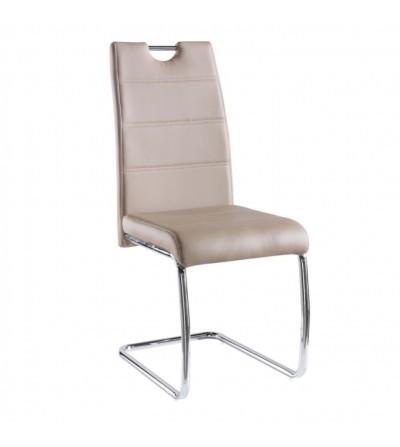 FK-194 CAPPUCCINO krzesło tapicerowane