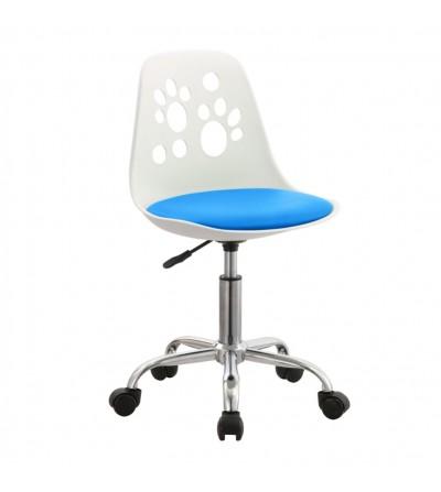 FK-03 niebieski fotel obrotowy