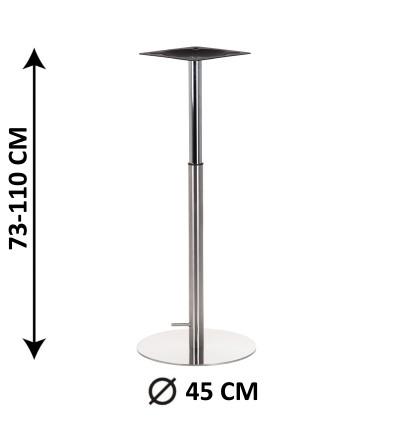 Stelaż do stołu 45x73-110