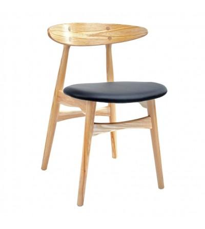 RETRO krzesło z drewna