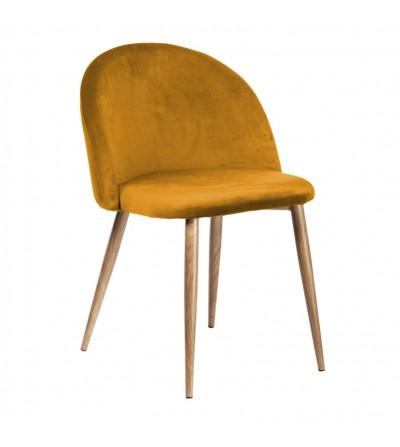 SOUL MUSZATDOWE krzesło tapicerowane velvet