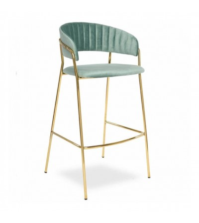 FEBA 2 MIĘTOWE krzesło barowe
