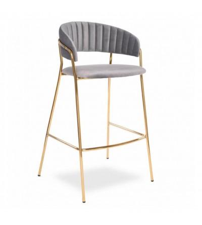 FEBA 2 SZARE krzesło barowe