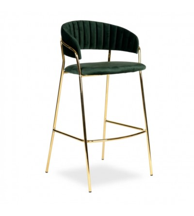 FEBA 2 ZIELONE krzesło barowe