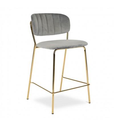 LENA 2 SZARE krzesło barowe