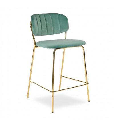 LENA 2 MIĘTOWE krzesło barowe