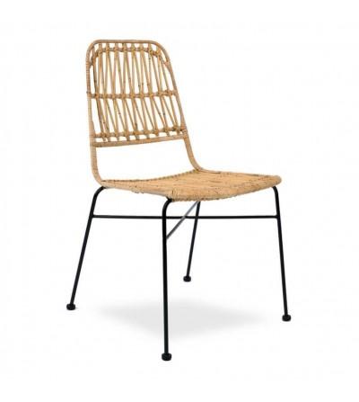 Krzesło rattanowe ALFA