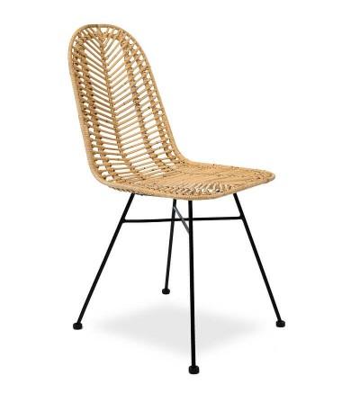 Krzesło rattanowe CELINA