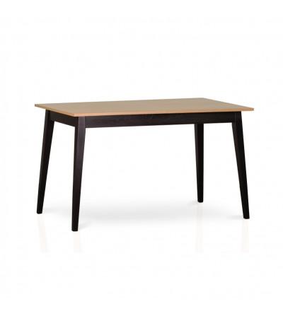 stół SMART black 120/160 ROZKŁADANY