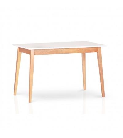 stół SMART white 120/160 ROZKŁADANY