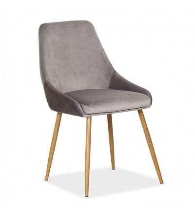 RINO SZARE tapicerowane krzesło velvet