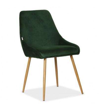 RINO ZIELONE tapicerowane krzesło velvet