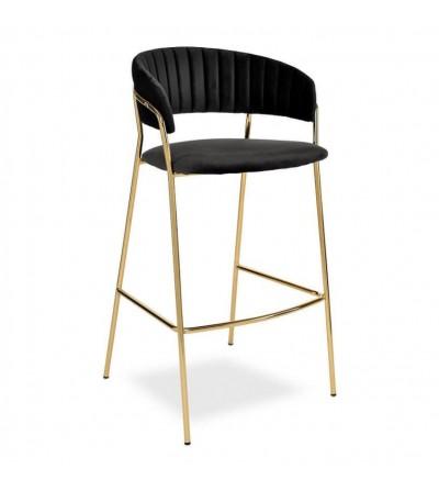 FEBA 2 CZARNE krzesło barowe hoker