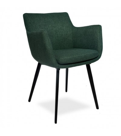 MARTA ZIELONY krzesło tapicerowane