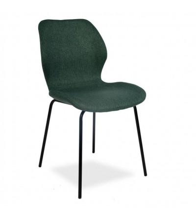 KLARA ZIELONE krzesło tapicerowane
