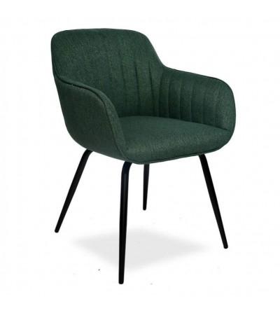 JULIA ZIELONY krzesło tapicerowane