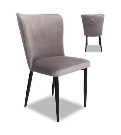 CLEO 2 krzesło tapicerowane velvet