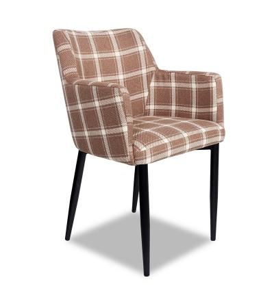 BARI KRATA krzesło tapicerowane