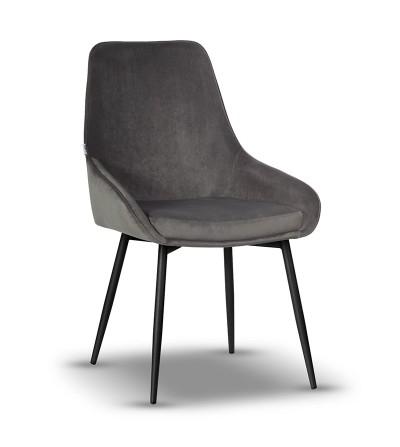 RINO SZARE krzesło tapicerowane velvet