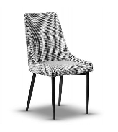 FAREL PEPITKA krzesło tapicerowane velvet