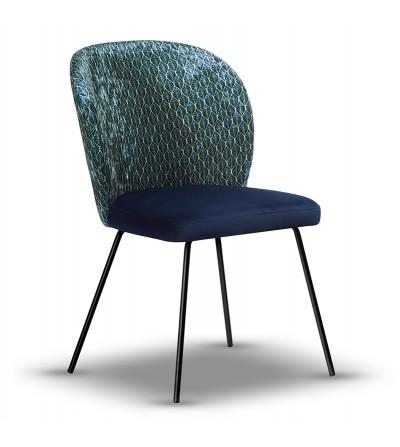 copy of RIO CRUSH VELVET krzesło tapicerowane velvet