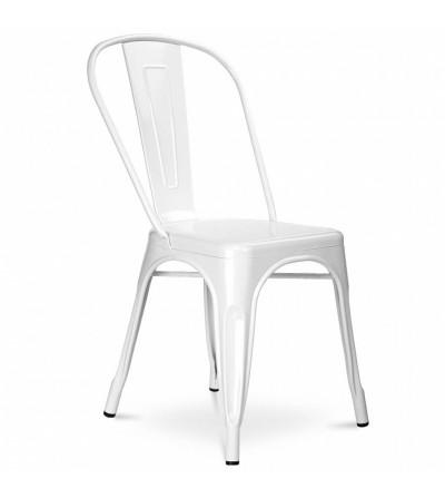 krzesło LEX biały metal