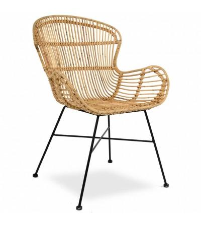 Krzesło rattanowe ANETT