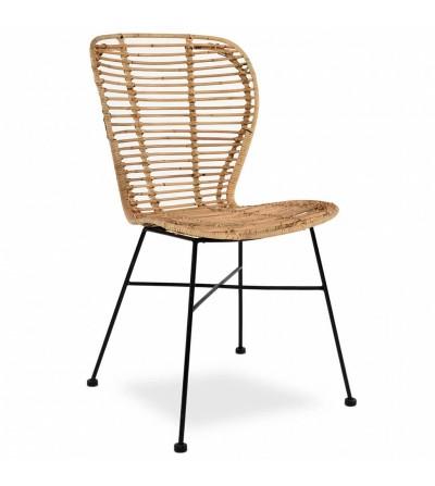 Krzesło rattanowe CLOE
