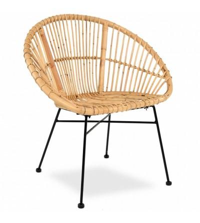 Krzesło rattanowe LILY