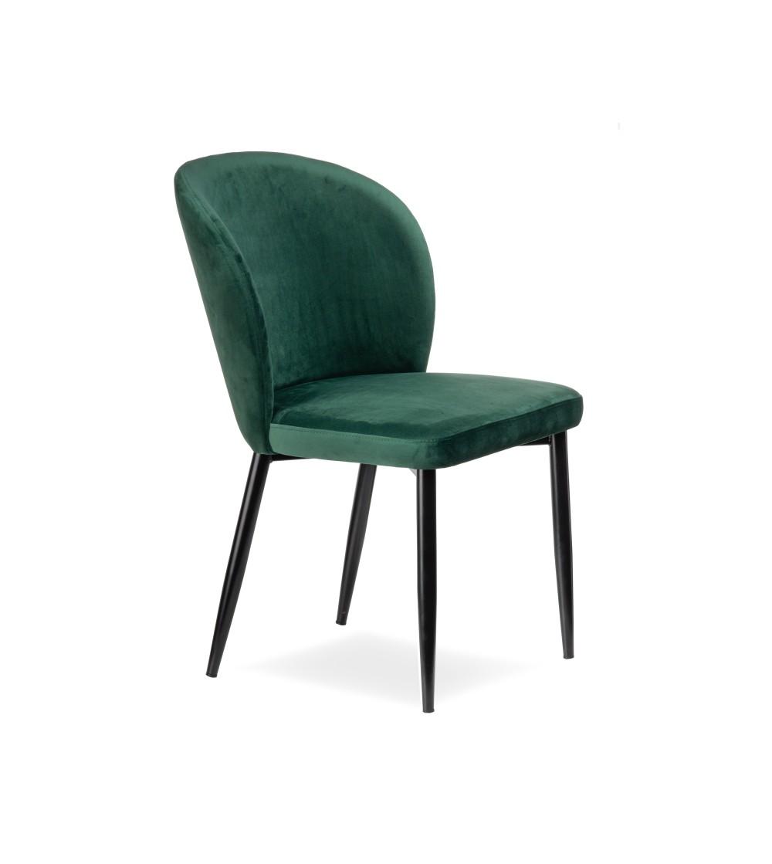 Rio Zielone Krzeslo Tapicerowane Velvet Sklep Fajnekrzesla Pl