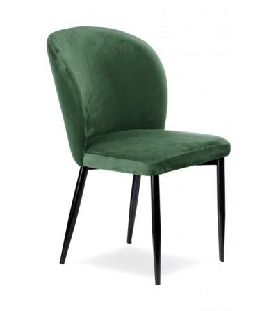 RIO MIĘTOWE krzesło tapicerowane velvet