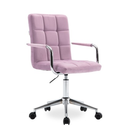 REY różowy fotel obrotowy