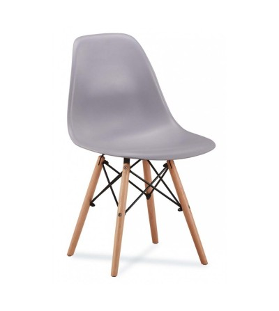krzesło MAX - JASNY SZARY