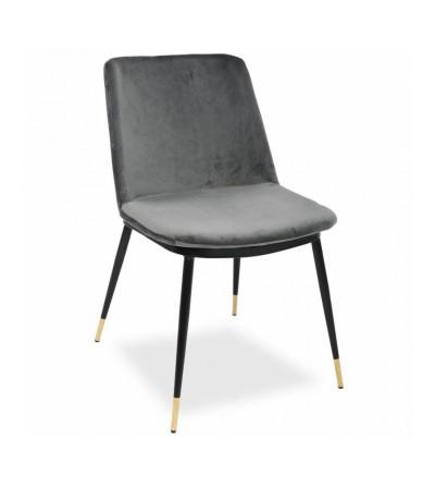 GREG SZARE krzesło tapicerowane velvet