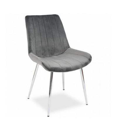 GINO SZARE krzesło tapicerowane velvet
