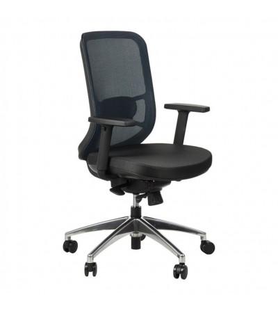Fotel obrotowy GN-310 NIEBIESKI chrom