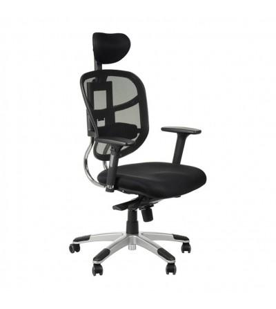 Fotel obrotowy HN-5018 SZARY
