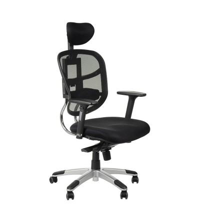 Fotel obrotowy HN-5018 CZARNY