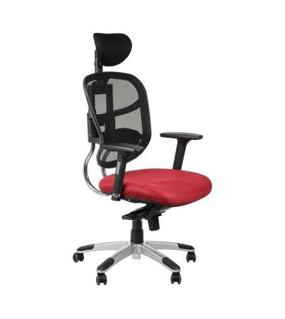 Fotel obrotowy HN-5018 BORDO