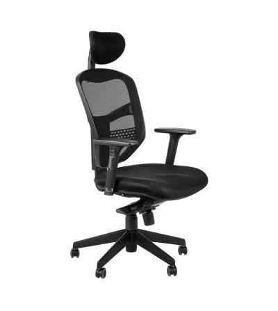 Fotel obrotowy HN-5038 SZARY