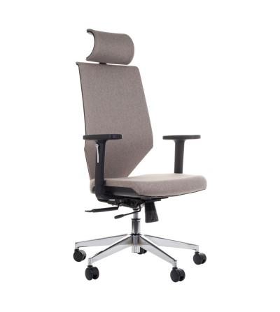 Fotel obrotowy ZN-805-C jasny szary